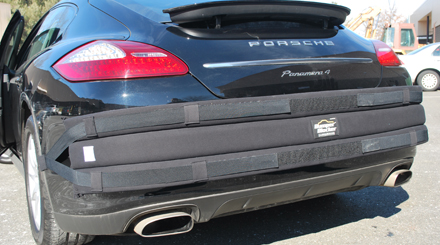 Front And Rear Bumper Protectors Provide Maximum Car Bumper